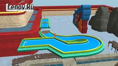 Mini Golf 3D City Stars Arcade (обновлено v 9.0) Мод (All Ball Skins/Track Skins Unlocked)
