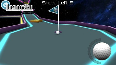 Mini Golf 3D: Space v 2.21 Мод (x127 Gold Multiplier)
