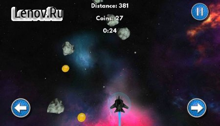 Space Race: Ultimate Battle v 2.1 Мод (Unlimited Coin/Score Multiplier/Shield After Hitting Obstacle)