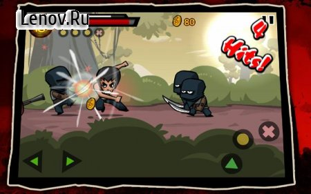 KungFu Warrior v 1.4.1 (Mod Money/Unlimited Health)