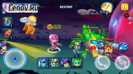 SuperHero Junior v 1.3 Мод (Infinite Coins/Gems)