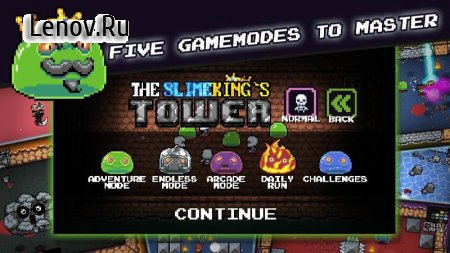 The Slimeking's Tower v 1.5.1 Мод (ads-free)
