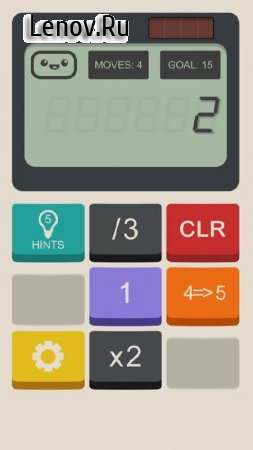 Calculator The Game v 1.3 Мод (Infinite Hints)