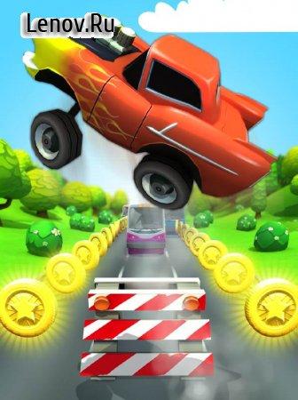 Car Racing Run v 1.1.1 Мод (Infinite Coins/Gems)