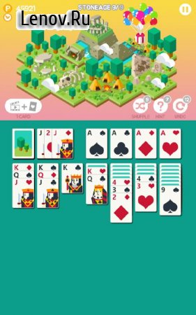 Age of solitaire : City Building Card game v 1.1.3 Мод (ads-free)