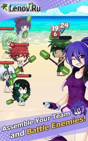 Gacha Resort - Anime Beach Games v 1.1.2 Мод (Infinite Gems/Shells/Vip user & More)