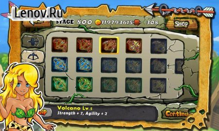 Defender Stone Age v 1.4 Мод (Unlimited coins/food)