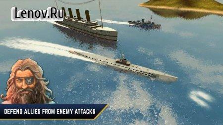 Enemy Waters : Submarine and Warship battles (обновлено v 1.0.53) Мод (много денег)