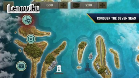 Enemy Waters : Submarine and Warship battles v 1.138 Мод (много денег)