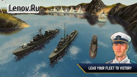 Enemy Waters : Submarine and Warship battles v 1.0.54 Мод (много денег)