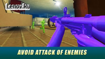 Army Men Toy War Shooter v 1.3.0 Мод (много денег)