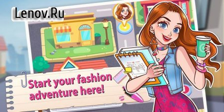 Fashion Intern Life - Romance Story Games v 1.0 Мод (Unlocked)