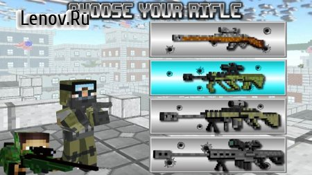 American Block Sniper Survival v C20i Мод (много денег)