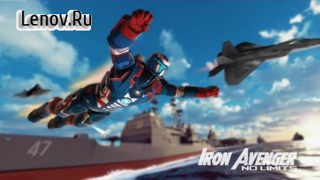 Iron Avenger 2 : No Limits v 1.601 (Mod Money)