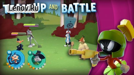 Looney Tunes World of Mayhem v 13.2.0 Мод (Dump Enemy/High Damage)
