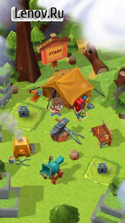 Craft Away! - Idle Mining Game (обновлено v 1.2.14) (Mod Money)