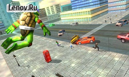 Flying Ninja Turtle Warrior City Rescue Mission 3D v 1.0