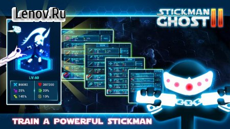 Stickman Ghost 2: Galaxy Wars v 6.3 Мод (Bunch of gems/coins)