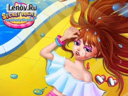 Secret High School 5 - The Pool Party v 1.0 Мод (Unlocked)