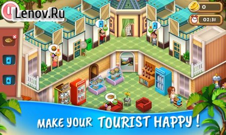 Resort Island Tycoon v 1.4 Мод (Unlimited Diamonds/Gold)