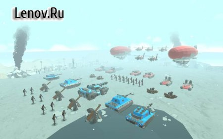 Army Battle Simulator v 1.2.70 (Mod Money)