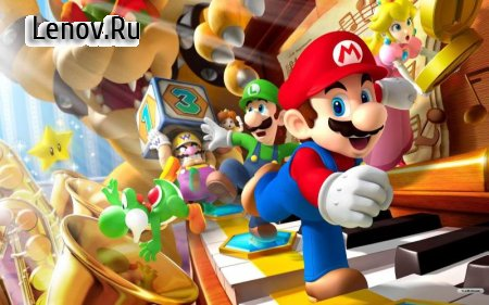 Super Mario 2 HD (обновлено v 1 Build 12) Мод (Unlimited Coins/Characters Unlocked)