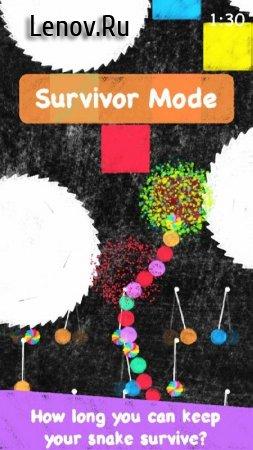 Snake Crayon Run - Breaker or Survivor? v 1.0 Мод (Ads-free)