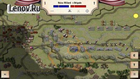 Civil War: Gettysburg v 2.4.0 Мод (много денег)