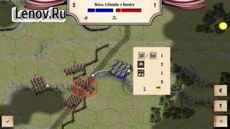 Civil War: Gettysburg (обновлено v 1.8) Мод (много денег)