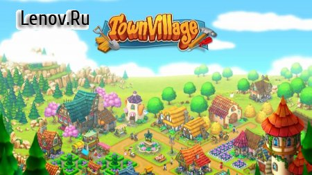 Town Village: Farm, Build, Trade, Harvest City v 1.8.16 Мод (Coins/Diamonds/Resources)