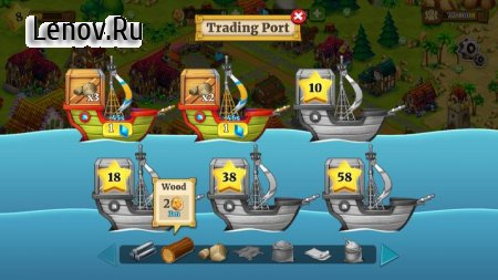 Town Village: Farm, Build, Trade, Harvest City v 1.9.6 Мод (Coins/Diamonds/Resources)