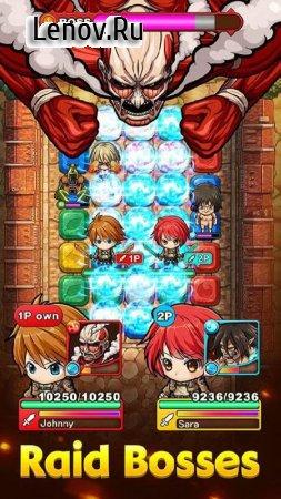 Mega Monster Legends - Attack on Titan (обновлено v 1.0.7) Мод (High damage/defense)