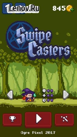 Swipe Casters v 1.0 (Mod Money/Ads-free)