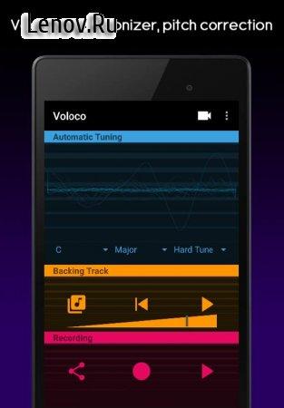 Voloco: Auto Tune + Harmony v 5.3.1 Mod (Unlocked)
