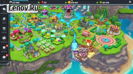 DragonVale World v 1.26.0 Мод (Unlimited Coins/FoodFree Buildings/Decorations/Habitats)