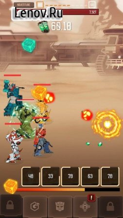 Transformers Arena v 3.0 Мод (Infinite Golds/Infinite Gems)