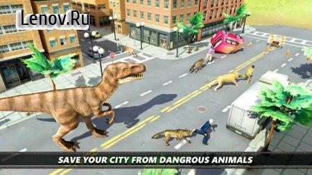 Dinosaur Simulation 2017- Dino City Hunting v 1.1.1 (Mod Money/Unlocked)