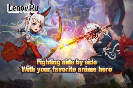 Chaos Saga - Social manga game v 1.2.0 Мод (weak enemies/max VIP)