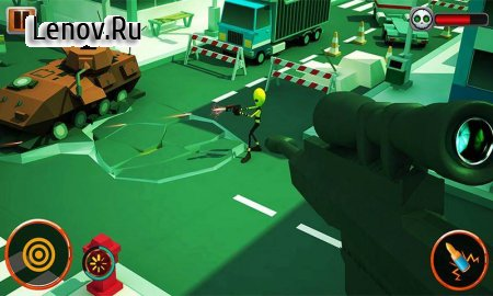 Frontline Alien Shooter : Free FPS Game v 1.3 Мод (Unlimited Money)