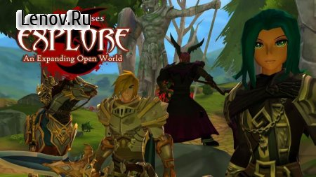 AdventureQuest 3D v 1.26.1 Мод (Jump x10/Movespeed x3)