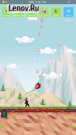 Strawberry Hero : 100 days of adventure v 1.34 (Mod Money)