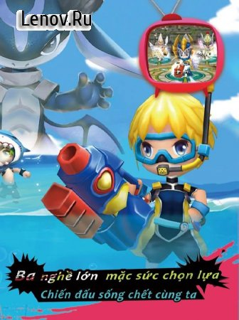 Battle of the Bold - Game Mobile action 3D Cute (Chiến Tích Dũng Sĩ) v 1.1.0 (x10 damage/Defense/Menu Mod)