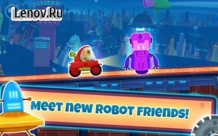 Cute Robot Racing - Future cars v 3.4 (Mod Money)