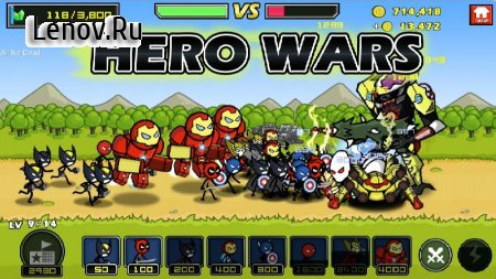 HERO WARS: Super Stickman Defense v 1.0.8 (Mod Money & More)