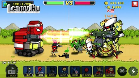 HERO WARS: Super Stickman Defense v 1.0.6 (Mod Money & More)