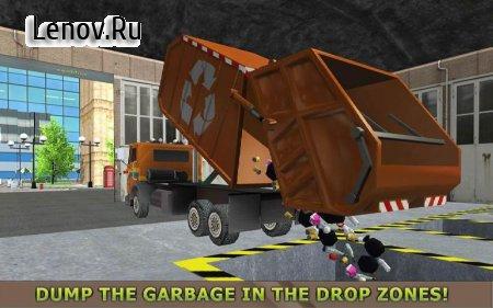 Garbage Truck Simulator PRO 2017 v 1.2 (Mod Money)