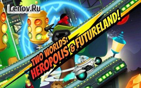 Superheroes Car Racing v 3.4 (Mod Money)