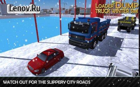 Loader & Dump Truck Winter SIM v 1.7 (Mod Money)