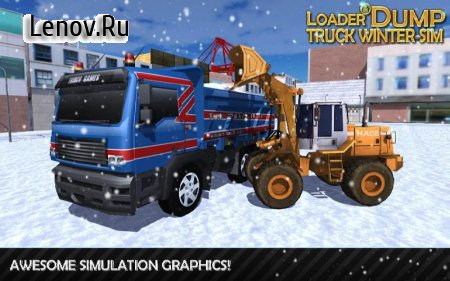 Loader & Dump Truck Winter SIM v 1.4 (Mod Money)