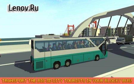 Mr. Blocky City Bus SIM v 1.9 (Mod Money)